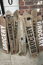 best 25 vintage wood signs ideas on pinterest diy wood signs