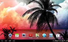 tropical night live wallpaper android apps on google play