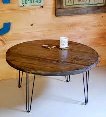 rectangular wood hairpin coffee table coffee table with hairpin legs writehookstudio com