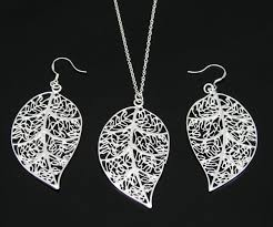 silver necklace bracelet set images Sterling silver jewelry set see more stunning jewelry at jpg
