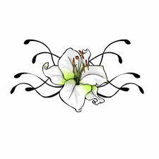 flower vine drawing tulip flower tattoo designs drawings of
