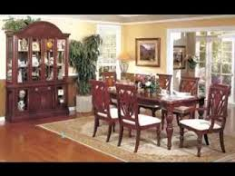 cherry wood dining room table cherry wood dining room furniture design ideas youtube