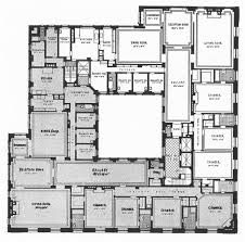 New Floor Plans by Floor Plan Of Huguette Clark U0027s New York Apartment Architectural
