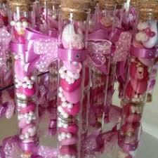 lade di vetro provetta di vetro confetti decorati confetti baptism ideas and