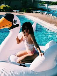 swan pool float photography ideas Pinterest