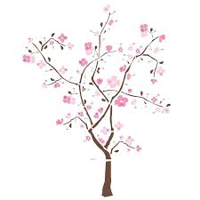 mural for nursery wall themes and diy ideas roommates rmk1555gm spring blossom peel stick giant wall decal