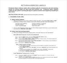 label template u2013 12 free word excel pdf psd documents