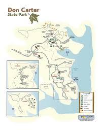 Lake Lanier Map Don Carter State Park Maplets