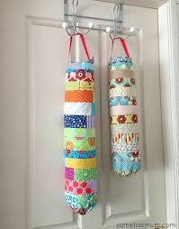 Diy Sewing Projects Home Decor Plastic Bag Dispensers Allfreesewing Com