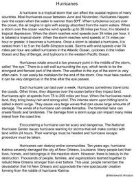 hurricanes activities u0026 worksheets nonfiction reading