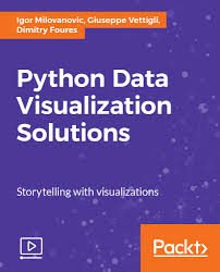 python data visualization solutions video packt books