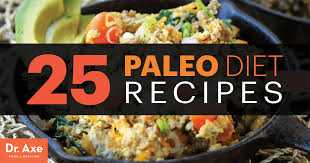 25 paleo diet recipes dr axe