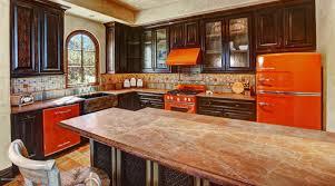 Orange Kitchens Orange Kitchen Appliances Home Design Ideas With Orange Kitchen
