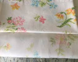 floral sheets etsy