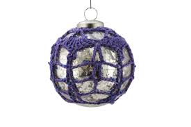 knit crochet and hairpin lace and knit pattern christmas ornaments