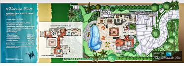 world s best house plans floor plan 3 kapalua place kapalua lahaina maui hawaii