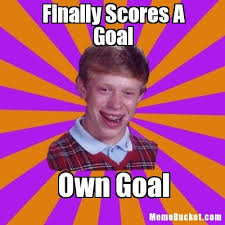Create Meme With Own Picture - finally scores a goal create your own meme