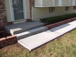 concrete driveway sidewalk and porch garden trends