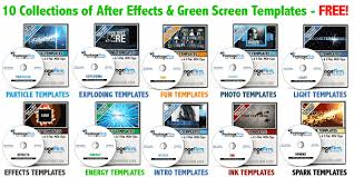 free ae and green screen templates stock footage for free