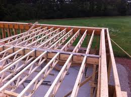 Looking Up At Floor Joists Long River House House Floor Joists Construction