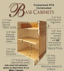 Plywood Cabinet Construction Rta All Wood Cabinet Construction Specifications