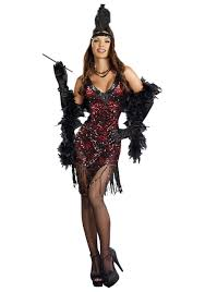women u0027s dames like us flapper costume