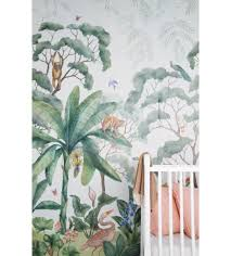 jungle wallpaper mural wallpaper walls