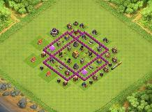coc map layout th6 th6 base layouts top 1000 clash of clans tools