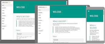 css tutorial w3schools pdf w3 css home