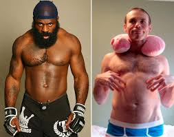 kimbo slice street fights knocks eye out image mag