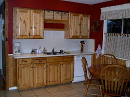 kitchen with knotty pine walls rdcny