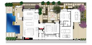 outdoor living plans outdoor kitchen pool house plans with courtyard home act within