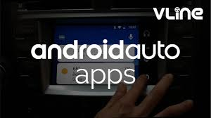 lexus is infotainment demo of android auto on vline infotainment system with lexus