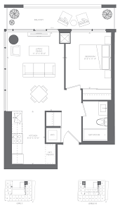 1 Bedroom Condo Floor Plans by Floorplans For 1 Bedroom Condominium Loft Suites Kingsway By The