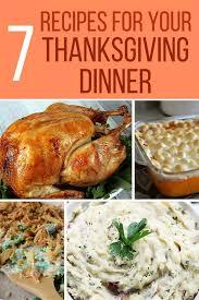 thanksgiving thanksgiving dinner recipes for