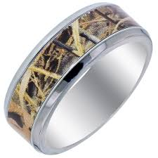 titanium mens wedding band mens camo wedding bands sang maestro