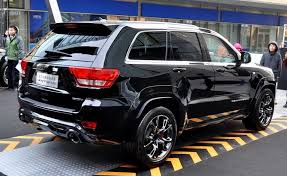 jeep suv 2016 black chrysler launches jeep grand cherokee srt8 black edition in china