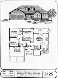 single house plan house plans single home deco plans