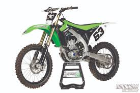 kawasaki motocross bike motocross action magazine 2014 heavy hitter rematch kx450f vs crf450