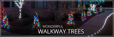 walkway trees