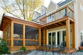 screen porch roof cedar screened porch daniel krienbuehl contractors inc