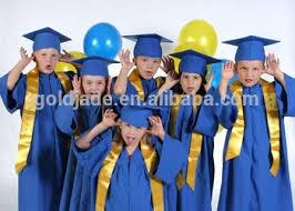 buy cap and gown custom design childrens preschool and kids kindergarten graduation