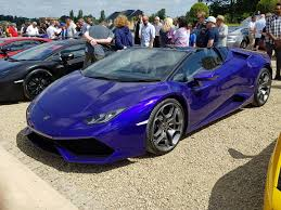 lamborghini huracan purple lamborghini huracan spyder at cars at the palace 2017 cars at