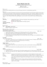 Acting Cv Example Duties Of A Personal Assistant To The Managing Director Personal