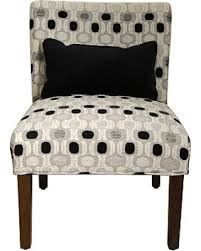 Black Accent Chair Deal On Black And White Geometric Accent Chair