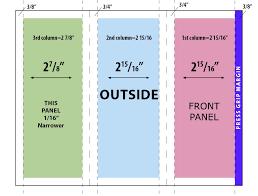 brochure 4 fold template 2 panel brochure template fieldstation co