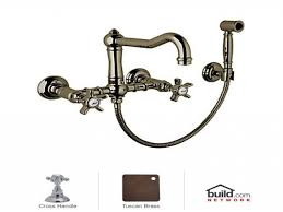 brass kitchen faucets wall mount kitchen faucet with spray wall
