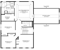 Master Bedroom Suites Floor Plans Lenah Mill The Villages The Parker Home Design