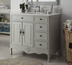 Distressed Bathroom Vanities Distressed Gray Daleville Bathroom Vanity Hf 837ck Bs