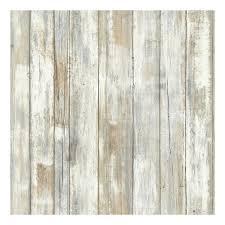 Peel Stick Wallpaper Faux Distressed Wood Peel U0026 Stick Wallpaper Wall Decal